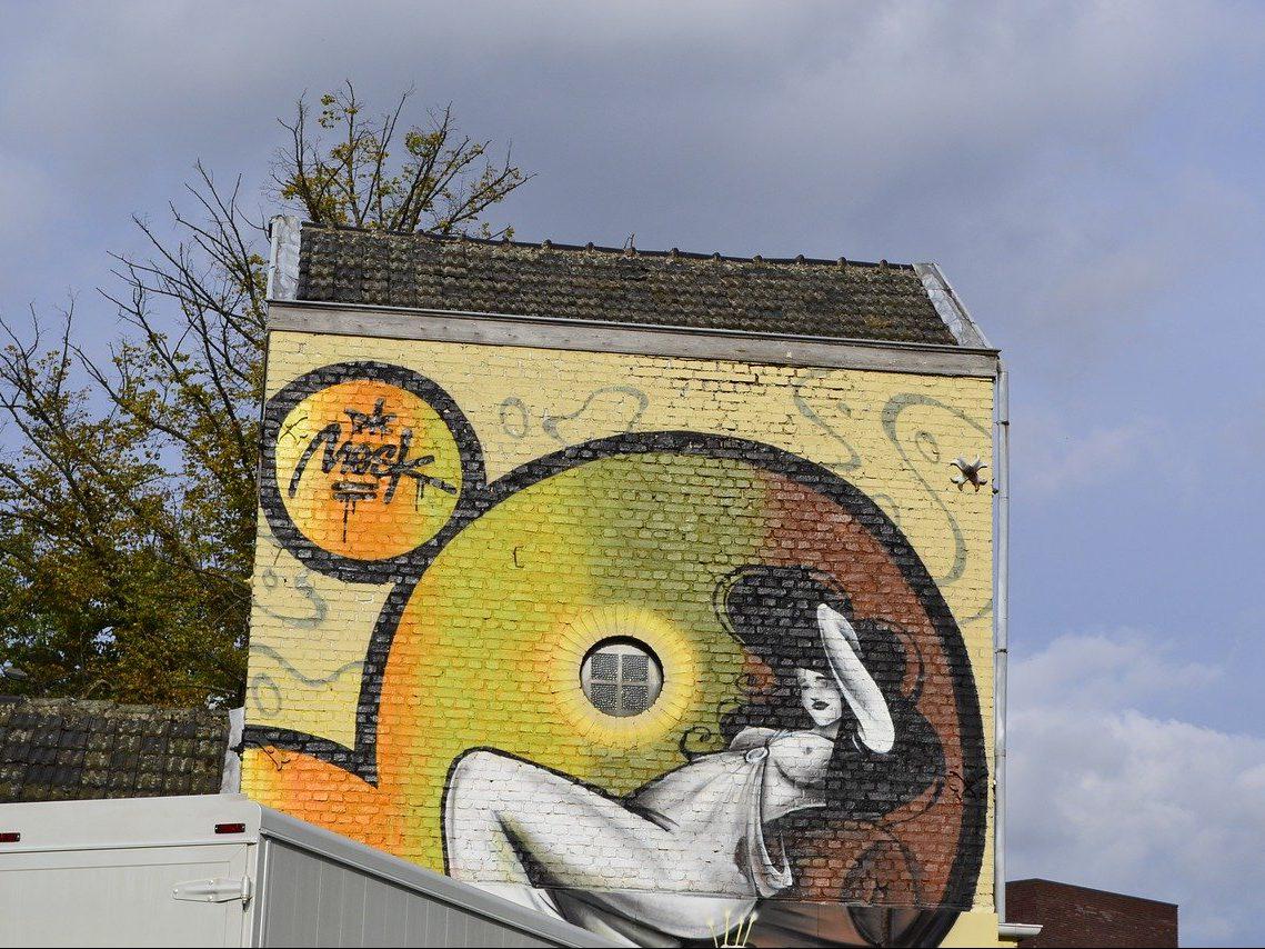 jazz, bilzen, graffiti
