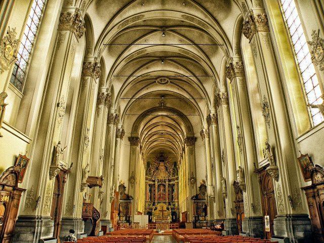 sint-truiden, belgium, church